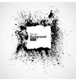 Black frames in a grunge vector image vector image