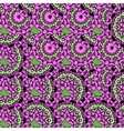 Violet coloured oriental ornate seamless pattern vector image
