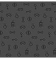Seamless oldschool gaming inspired pattern vector image