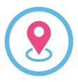 Geo Targeting icon vector image