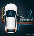 Car Diagnostics Device vector image