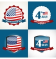 Independence Day Poster Set vector image