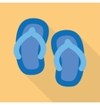 sandal vector image