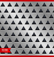 triangle metal background design vector image
