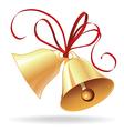 Christmas or wedding bells vector image