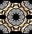 antique golden repeatable wallpaper damask vector image