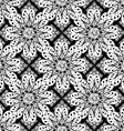 Floral Patterned Wallpaper vector image