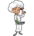 Female Chef vector image