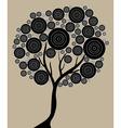 artistic tree vector image
