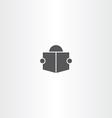man read book icon symbol sign vector image