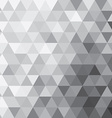 Abstract triangle background patterns vector image