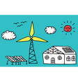 Alternative energy concept vector image