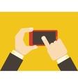 Flat Smartphone vector image