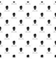 spa facial clay mask pattern vector image
