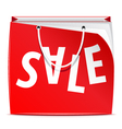 shopping bag vector image