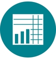 Stacked Graph vector image