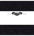White Paper Sheet on Dark Halloween Background vector image