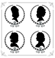 Cameo set Vector Image