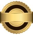Gold Medal Frame vector image