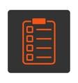 Examination icon vector image