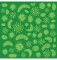 green virus vector image vector image