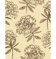 Azaleas seamless floral pattern vector image