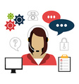 Customers design vector image
