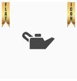 Engine oil Single flat icon vector image