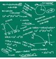 formula doodle vector image vector image