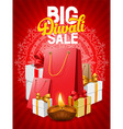 Diwali poster vector image vector image
