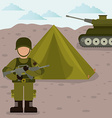 Army design vector image