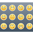 Emotional Stickers vector image