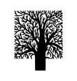 figure tree vector image