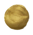 golden paint ball vector image