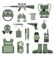 USA or NATO troop military army symbols vector image