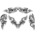 Tribal tattoo pattern vector image