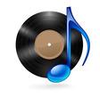 music vinyl 02 vector image