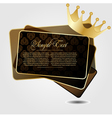 with crown vector image