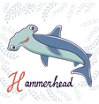 H is for Hammerhead vector image