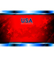 Usa american independence day vector image