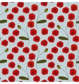 Seamless Pattern with Poppies Flowers and vector image