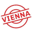 Vienna rubber stamp vector image