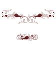 Set of design elements - grape vector image vector image