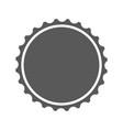 beer cap icon simple vector image