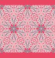 Cute abstract mosaics seamless pattern vector image