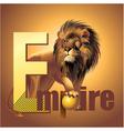 Empire lion vector image