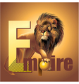 Empire lion vector image