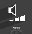 volume sound icon symbol Flat modern web design vector image