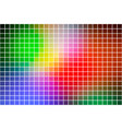green blue orange red square mosaic background vector image