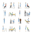 Nurse Health Care Decorative Icons vector image